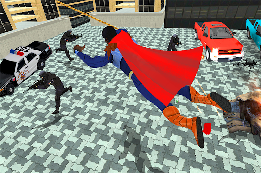 Black Rope Hero Vegas Mafia Superhero Crime Battle  screenshots 5