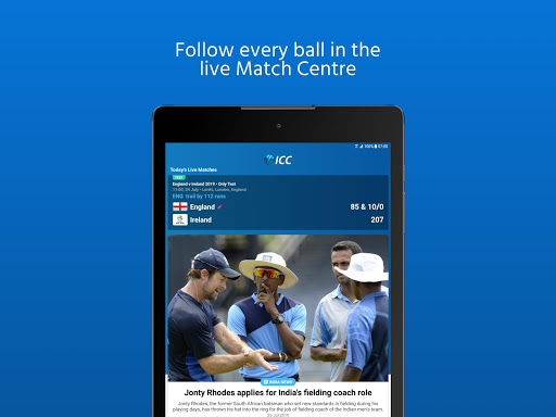 ICC - Live International Cricket Scores & News  screenshots 15