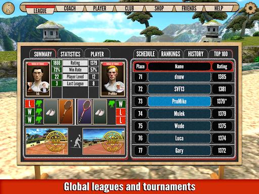 World of Tennis: Roaring u201920s u2014 online sports game  screenshots 13