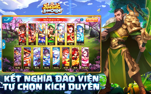 Tam Quu1ed1c Lou1ea1n Chiu1ebfn  screenshots 9
