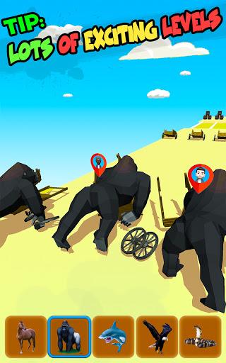 Code Triche Jeux Epic Animal Dash Run: Hop And Smash (Astuce) APK MOD screenshots 5