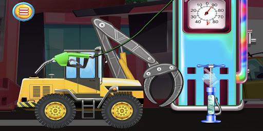 Construction Vehicles & Trucks - Games for Kids  Screenshots 4