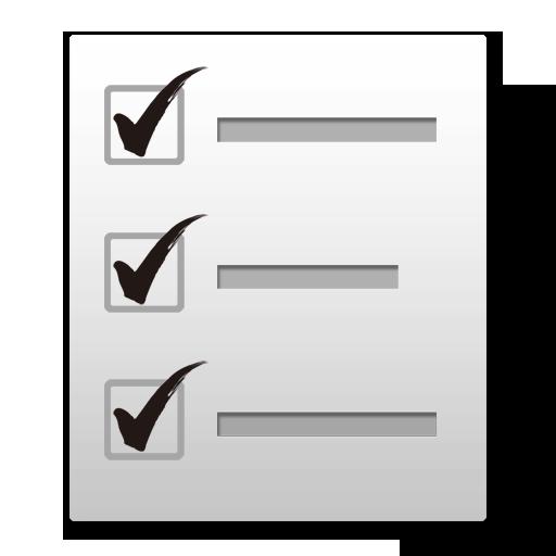 Simplest Checklist(check list)