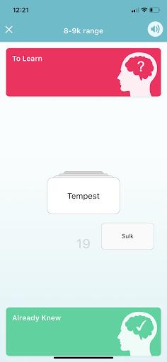 WordUp Vocabulary 3.0.1 Screenshots 3