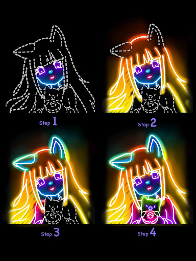 Draw Glow Comics 1.0.19 Screenshots 19