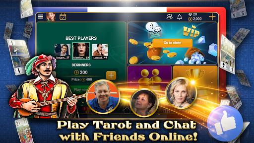 VIP Tarot - Free French Tarot Online Card Game 3.7.5.30 screenshots 3