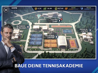 Tennis Manager 2021 – Mobile – World Pro Tour Screenshot