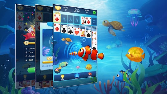 Solitaire Fish – Classic Klondike Card Game 6