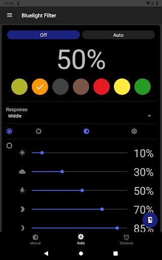 Bluelight Filter for Eye Care - Auto screen filter 3.7.1 Screenshots 22
