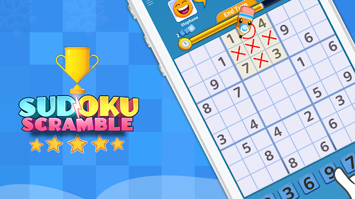 Sudoku Scramble - Head to Head Puzzle Game apkpoly screenshots 23
