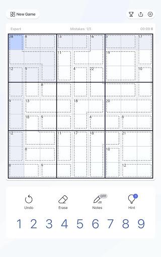 Killer Sudoku - Free Sudoku Puzzle, Brain Games  screenshots 16