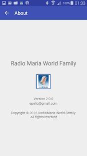 Radio Maria World Family