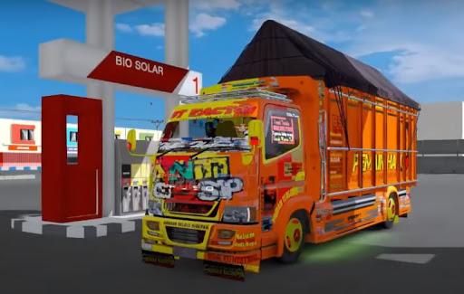 Truck Simulator Indonesia : Livery Bussid  screenshots 5