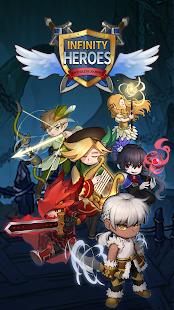 Infinity Heroes VIP: Schermata di gioco di ruolo inattivo