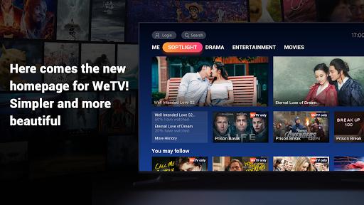 WeTV - TV version 1.3.0.40009 Screenshots 1