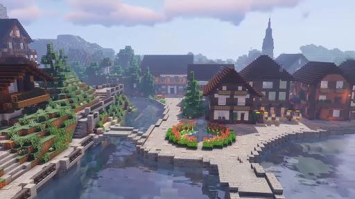 Craft Pixel Art Rain - Creative building  screenshots 1