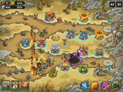 Empire Warriors: Tower Defense TD Strategy Games  screenshots 7