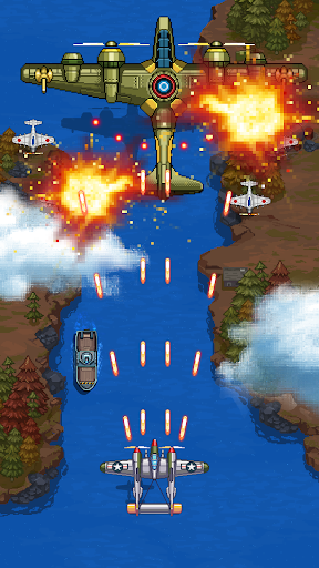 1945 Air Force: Airplane Shooting Games FREE 8.07 Screenshots 5