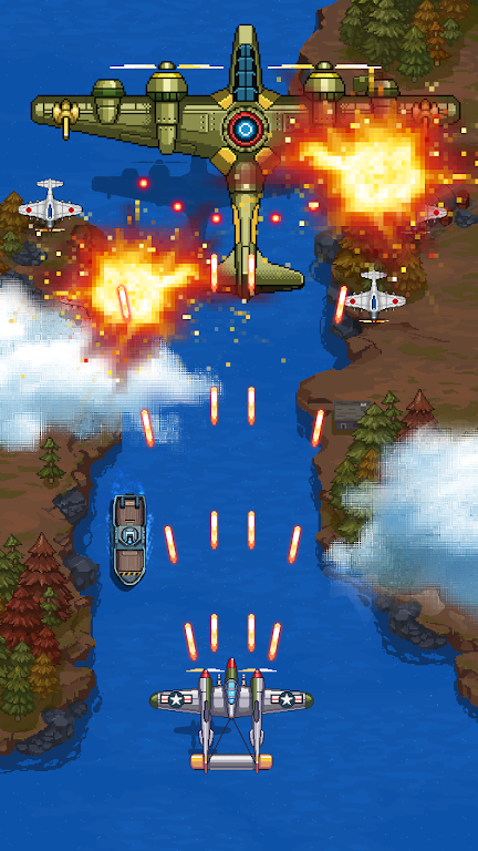 1945 Air Force: Airplane Shooting Games - Free  poster 2