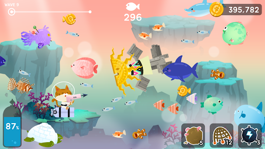 The Fishercat Mod Apk 4.1.2 (Lots of Gold Coins and Gears) 7
