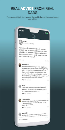 the dad chat - the dad app, created by real dads screenshot 2