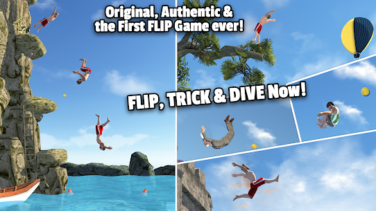Download Flip Diving MOD APK [Unlimited Money/Coins/Shopping] 6