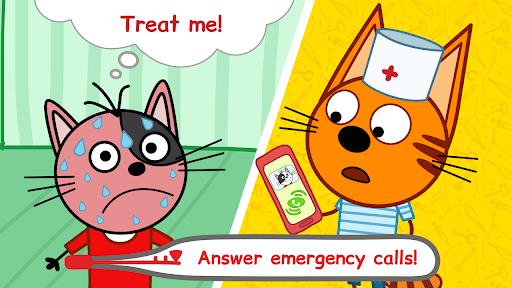 Kid-E-Cats Animal Doctor Games for Kidsu30fbPet Doctor  screenshots 2