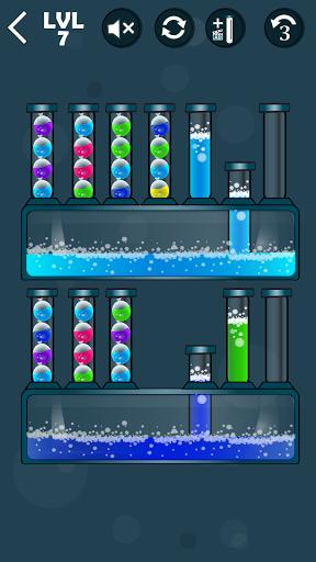 Balloons Sort Puzzle apkpoly screenshots 3