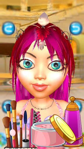 Princess Game Salon Angela 3D - Talking Princess 201124 screenshots 3