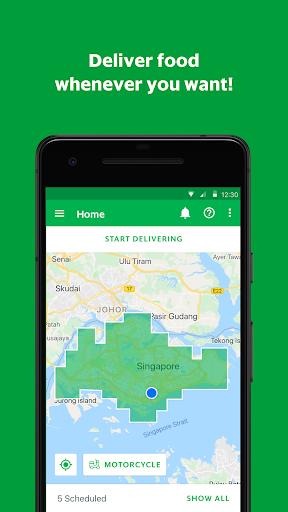 GrabFood - Driver App 1.0.17 Screenshots 1