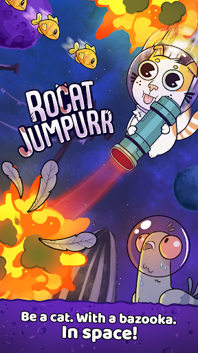 Télécharger Rocat Jumpurr - Hilarious Monsters Crawler APK MOD (Astuce) screenshots 1