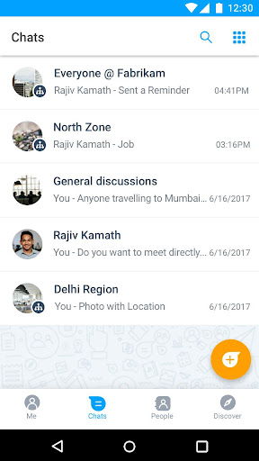 Microsoft Kaizala u2013 Chat, Call & Work 1.1.2816.5612 Screenshots 7