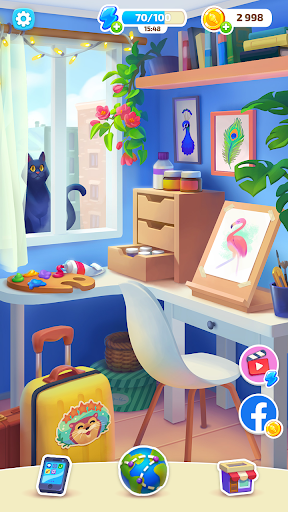 Color Stories - color journey, paint art gallery screenshots 5