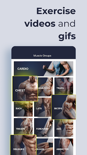 Gym Gym Workout Personal Trainer Bodybuilding  Screenshots 1