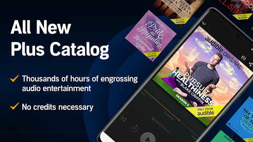 Audible: audiobooks, podcasts & audio stories android2mod screenshots 2