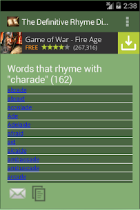 The Rhyme Dictionary  For Pc (Download Windows 7/8/10 And Mac) 2