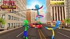 screenshot of Flying Hero Stickman Rope Hero Grand Crime City