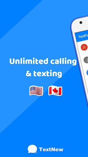 TextFun : Free Texting & Calling 2.2.1 Screenshots 1