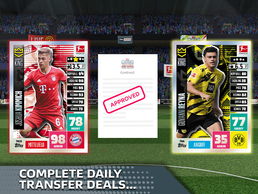 Bundesliga Match Attax 21/22 Apkfinish screenshots 8