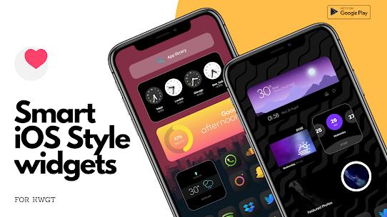 Smart iOS Style widgets (MOD, Paid) v6.1 2