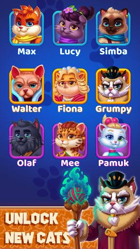 Cat Heroes - Color Match Puzzle Adventure Cat Game  screenshots 3