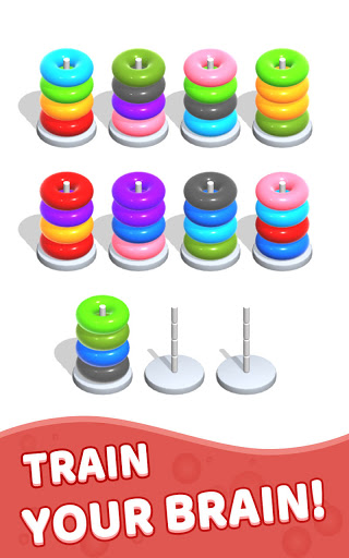 Color Hoop Stack - Sort Puzzle 1.1.2 screenshots 12