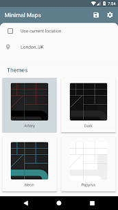 Minimal Maps – Themed Map Wallpapers 1.3.0 Mod APK Download 1