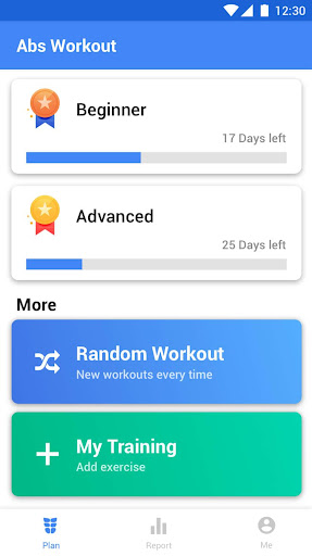 Abs Workout - 30 Day Ab Challenge 1.0.4 Screenshots 1