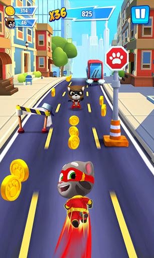 Code Triche Talking Tom Hero Dash (Astuce) APK MOD screenshots 1