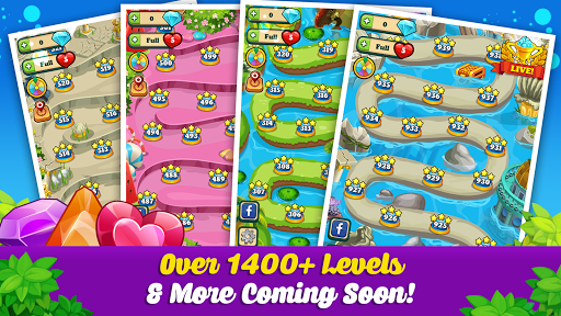 Addictive Gem Match 3 - Free Games With Bonuses  screenshots 15