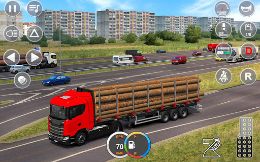 Indian Mountain Heavy Cargo Truck : Euro Truck Sim android2mod screenshots 2
