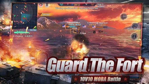 King of Warship: 10v10 Naval Battle screenshots 13