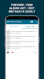 MP3 Video Converter – Extract music from videos (PREMIUM) 3.5 Apk 4