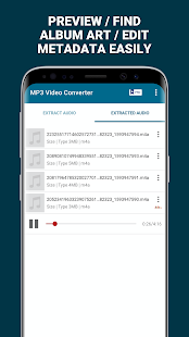 MP3 Video Converter - Extract music from videos
